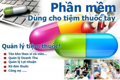 Phần mềm quản lý hiệu thuốc Thiên Hà V45