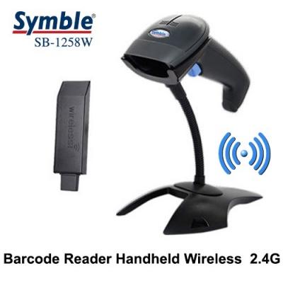 Máy đọc mã vạch Symble SB-1258W (không dây USB Wifi, laser, 1D, đơn tia)