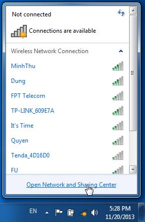 huong dan xem xoa pas wifi tren lap top